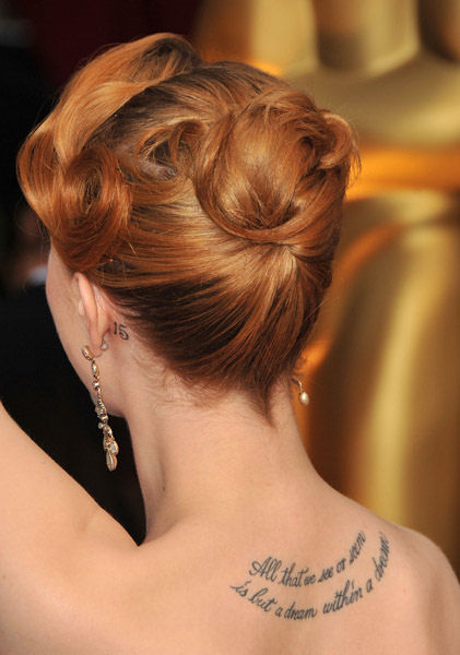 small heart tattoo behind ear. Evan Rachel Wood, sporting a 15 tattoo behind her left ear, not quoted as