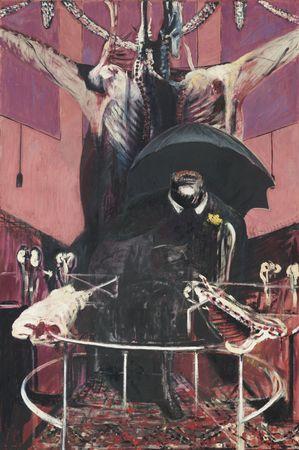 Closer - Influencias artísticas no video Francis_bacon_painting_1946