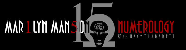 15 ; Marilyn Manson and Numerology