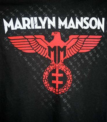 Marilyn Manson The Golden Age Of Grotesque Diamond Logo The