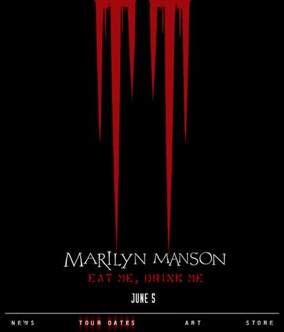 Eat Me Drink Me Marilynmanson The Nachtkabarett