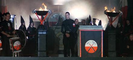 Antichrist Superstar Shock Symbol The Nachtkabarett