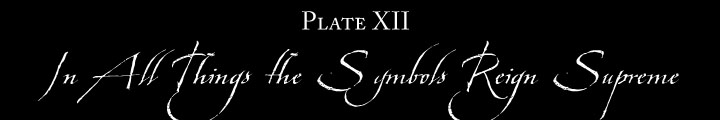 Plate XII: In All Things the Symbols Reign Supreme