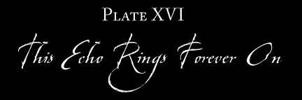 Plate XVI: This Echo Rings Forever On