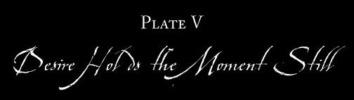 Plate V: DESIRE HOLDS THE MOMENT STILL
