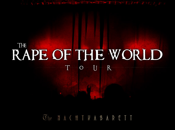 Eat Me, Drink Me Live - The Rape Of The World Tour